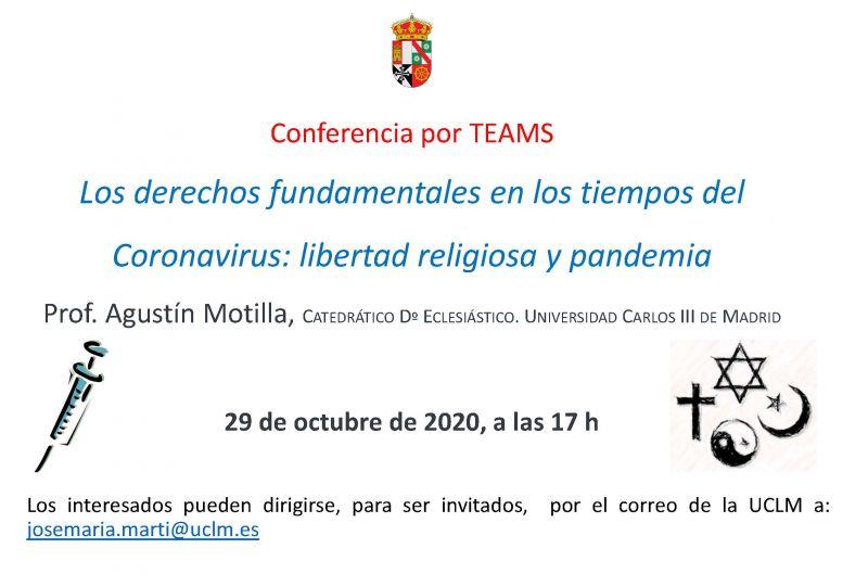 Conferencia Prof. Motilla: